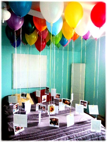 2 birthday balloons boyfriend husband birthday gift ideas