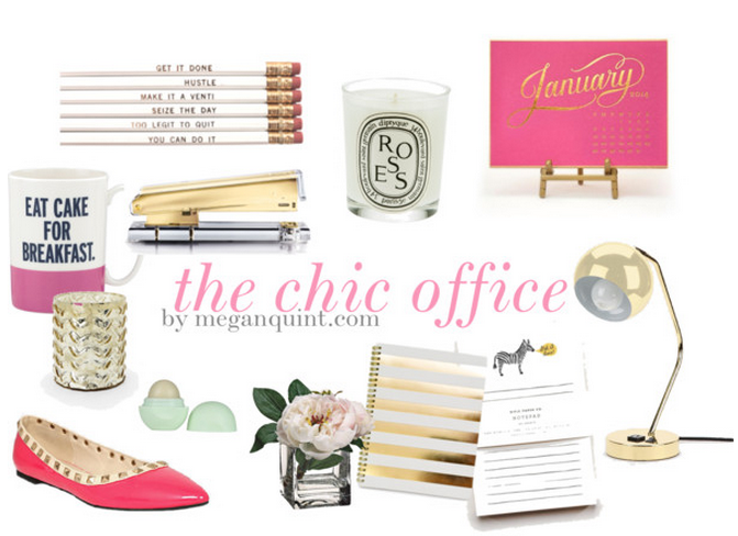 The quintessentialsthe chic office the quintessentials for Chic office ideas