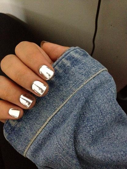 minx metallic nails