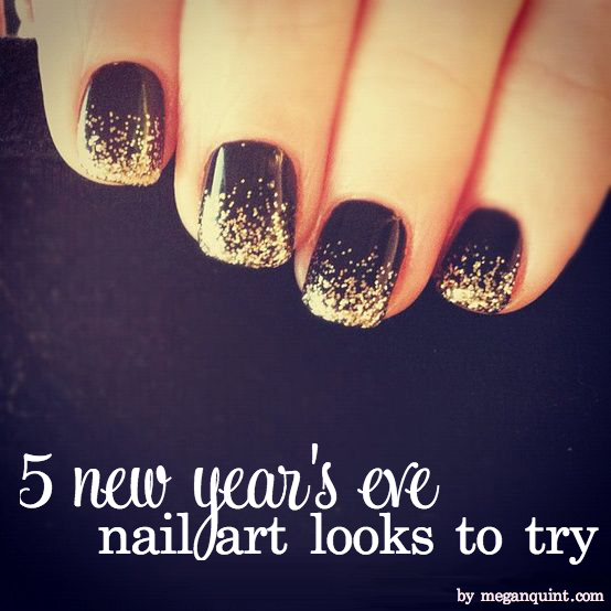 The Quintessentialsfriday Five 5 New Years Eve Nails To Try The