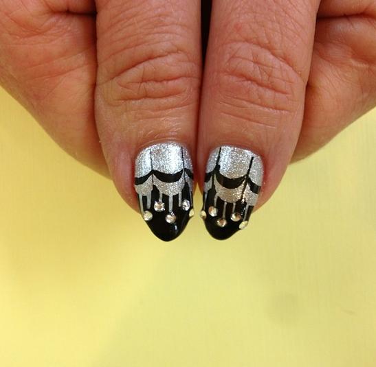nye 2014 nails